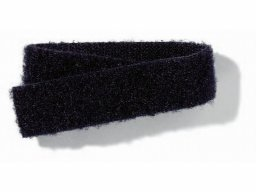 Velcro back-to-back tape, black