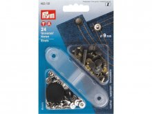 Prym universal rivets, two colours