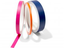 Coloured adhesive tape, opaque, matte