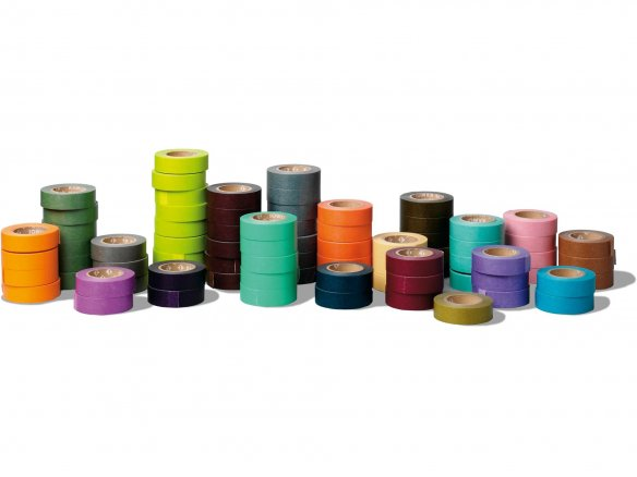 Mt 1P Basic Masking Tape, Washi Klebeband uni
