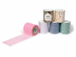 mt Casa masking tape, patterned Washi adhes. tape