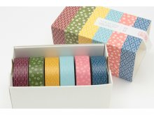 mt Wamon (Washi) masking tape, patterned