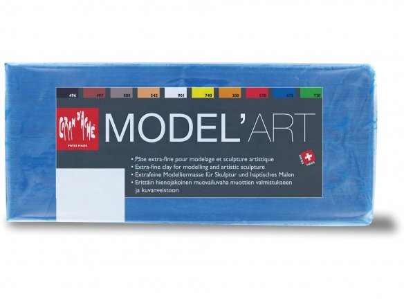 Model'Art Trickfilm-Plastilin farbig