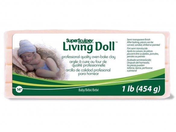 Super Sculpey Living Doll