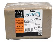 Gedeo modelling clay, white