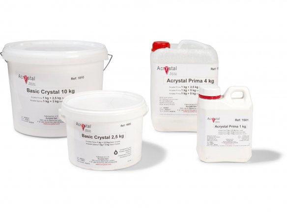 Resina acrilica  laminatura/stampiAcrylstal Prima