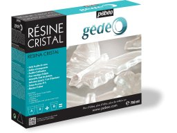 Gedeo crystal resin, transparent