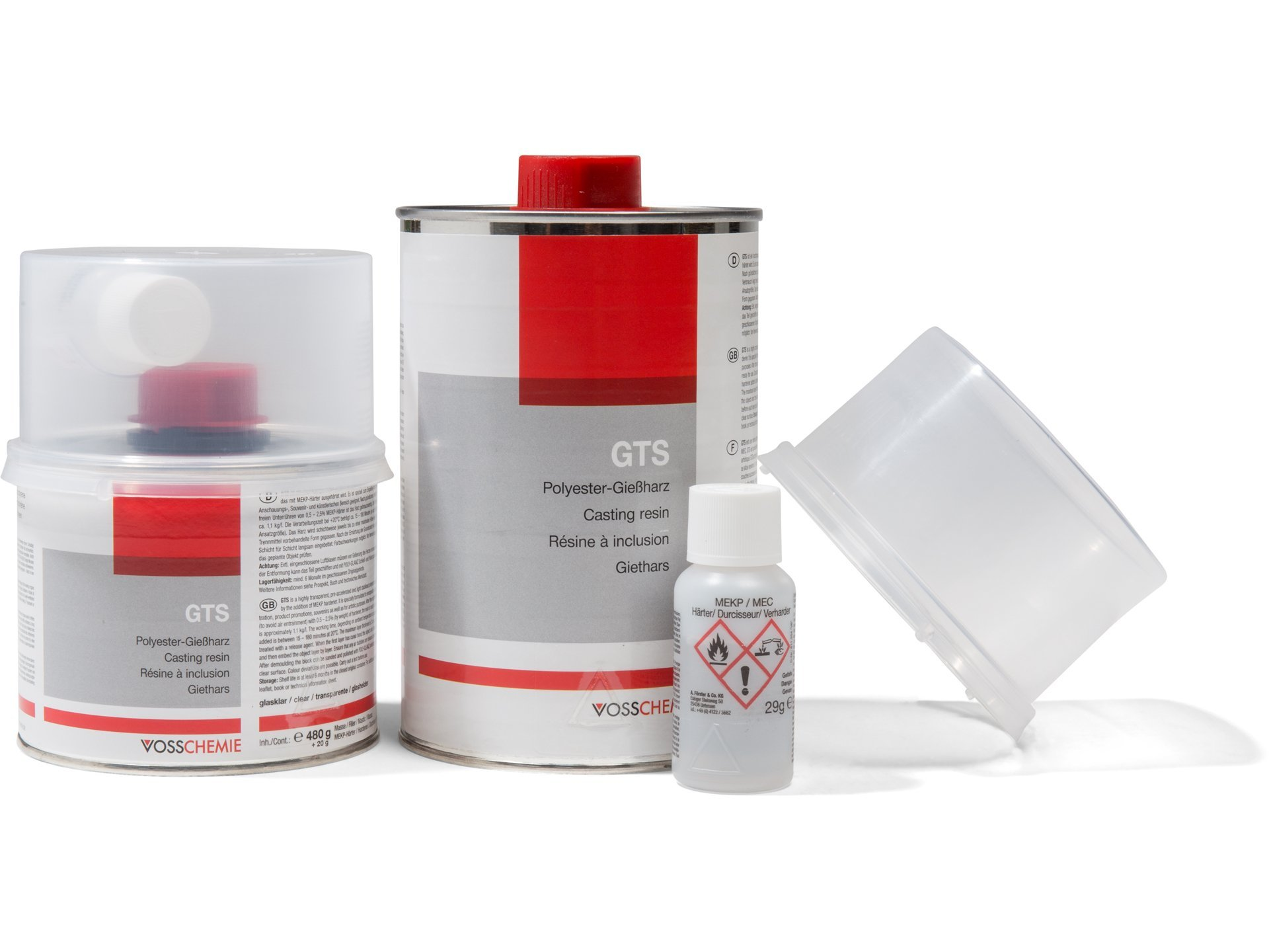 Buy Polyester casting resin GTS, crystal clear online at Modulor