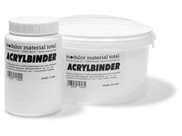 Modulor Acrylic binder D 498, semi-glossy