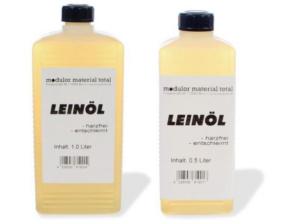 Modulor linseed oil