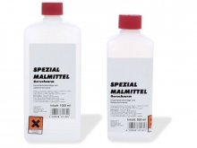 Special paint solvent