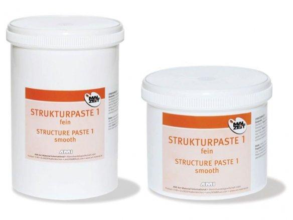 Pasta de estructura para pintura acrílica