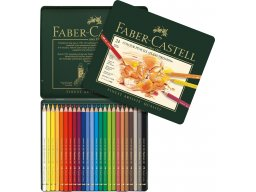Faber Castell Polychromos coloured pencil, set of 24