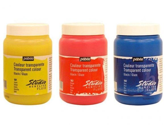 Pebeo Studio acrylic glaze paint