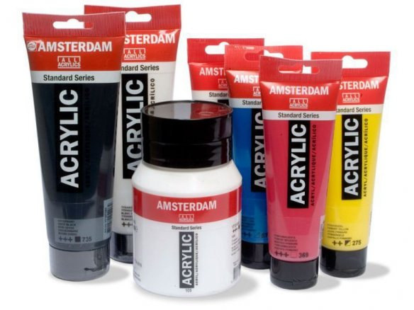 Royal Talens acrylic paint, Amsterdam Std. Series
