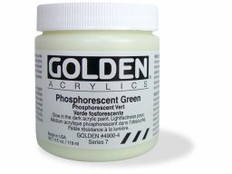 Golden Phosphorescent acrylics