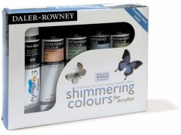 Daler-Rowney Shimmering Colours interference medium