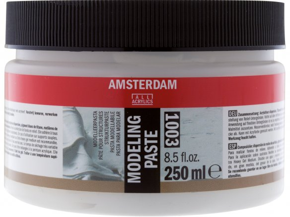 Royal Talens modelling paste Amsterdam