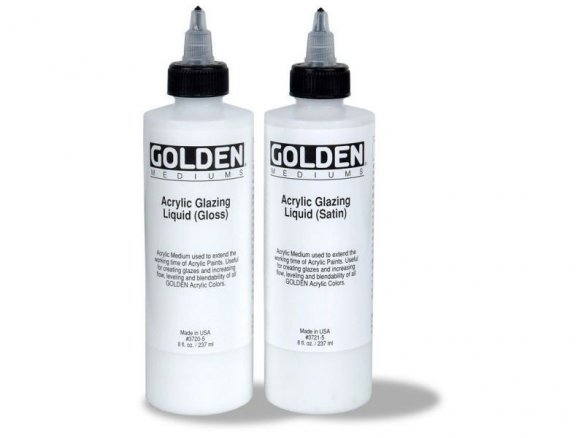 Medium per pittura Golden Acrylic Glazing Liquid