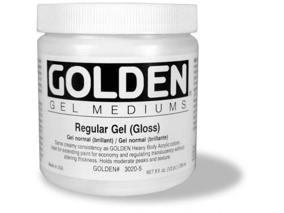 Gel per pittura Golden Regular