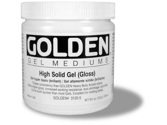 Gel per pittura Golden High Solid