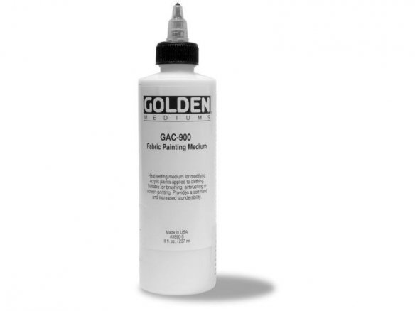 Golden GAC 900 fabric painting medium