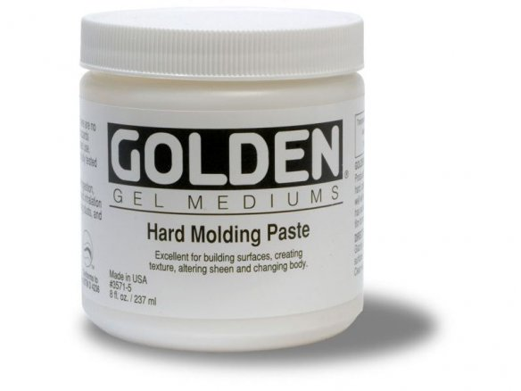 Golden Strukturpaste Hard