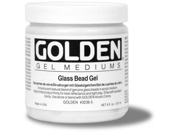 Gel para estructuras Golden Glass Bead