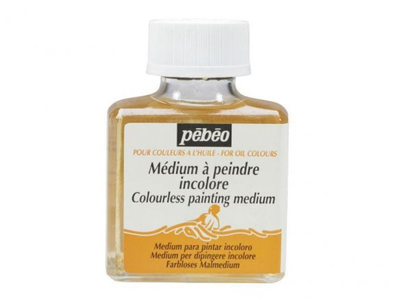 Pebeo medium for oil paint, colourless
