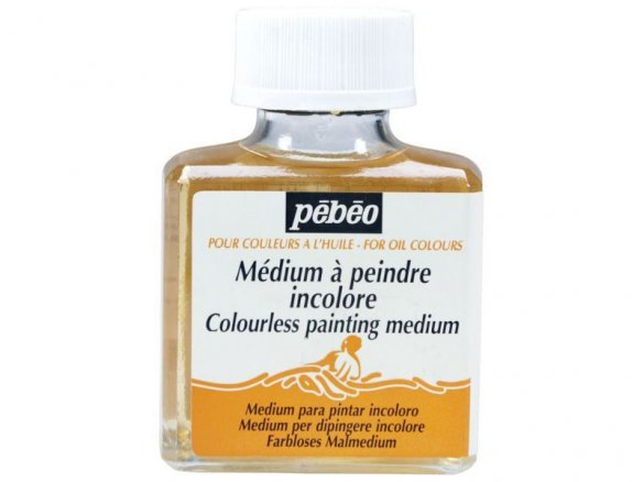 Medium gel Fragonard Pebeo pr colori olio,incolore