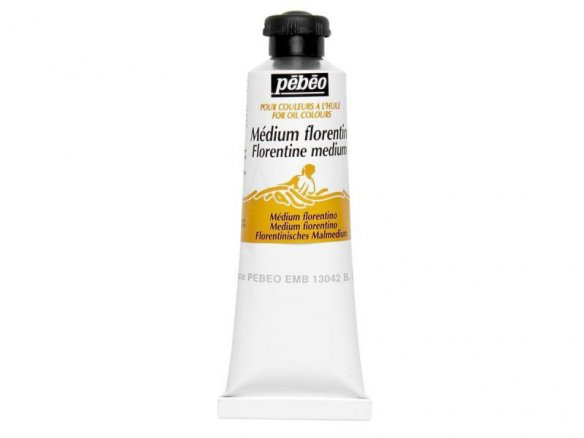 Pebeo Florentine medium for oil paint, satin