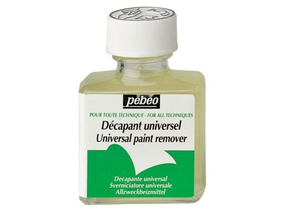 Pebeo universal paint remover, for oil paints