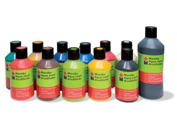 Marabu Linoldruckfarbe Aqua