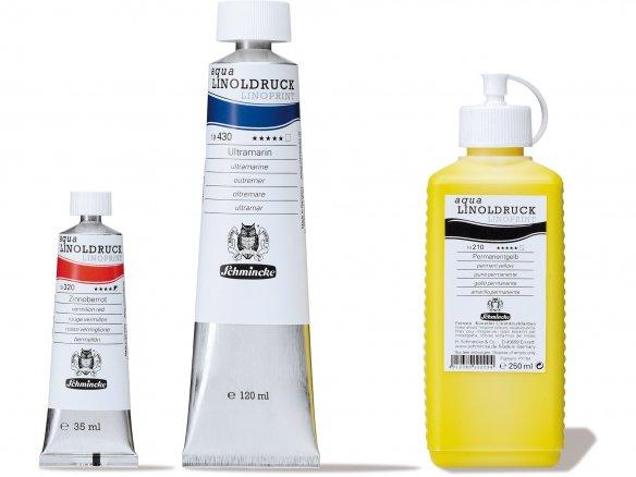 Schmincke Linoldruckfarbe Aqua