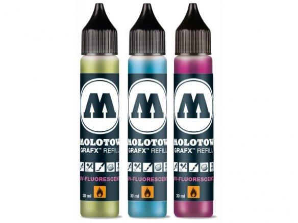 Molotow GRAFX UV-Fluorescent Softliner, REFILL