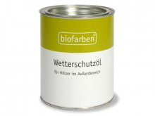 Biofarben weatherproofing
