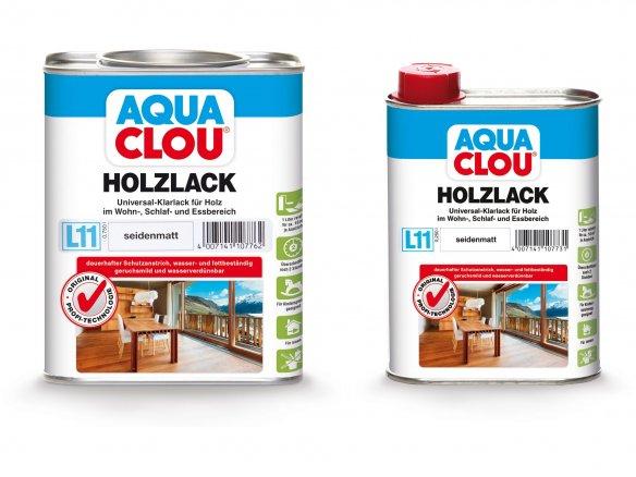 Lacca per legno Clou Aqua protect L 11