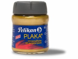 Pelikan Plaka all-purpose paint, metallic