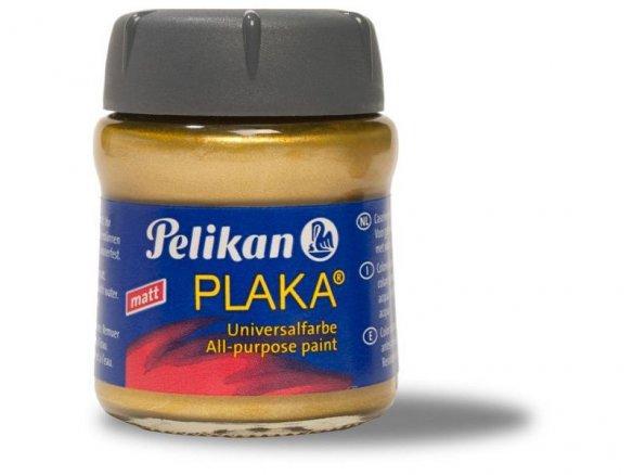 Pintura universal Pelikan Plaka, color metálico