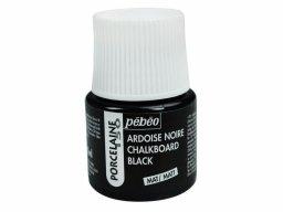 Pebeo Porcelaine 150 chalkboard paint, black