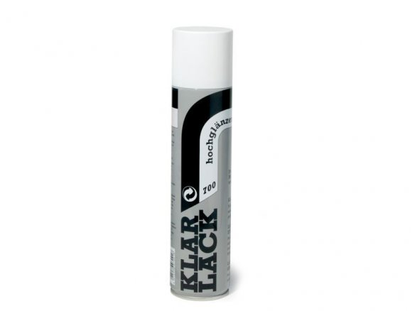 Aerodecor clear varnish spray, colourless