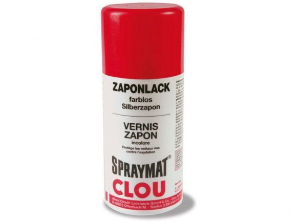 Clou Spraymat zapon spray varnish
