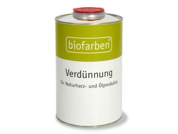 Biofarben thinner for natural resin and oil products