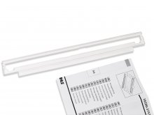 Dahle 505 rotary trimmer, contact rail