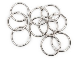 Binder ring, nickel-plated