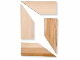 Cunei in legno per telai