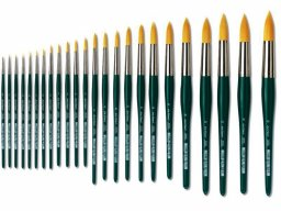 Da Vinci Nova watercolour brush, round
