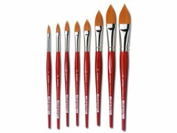 Da Vinci Cosmotop-Spin watercol. brush,flat,pointed