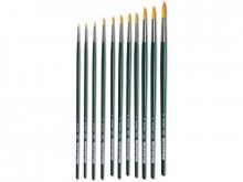 Da Vinci Nova oil/acrylic brush, round
