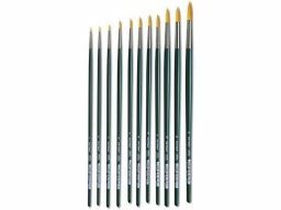 Da Vinci Nova oil/acrylic brush, round